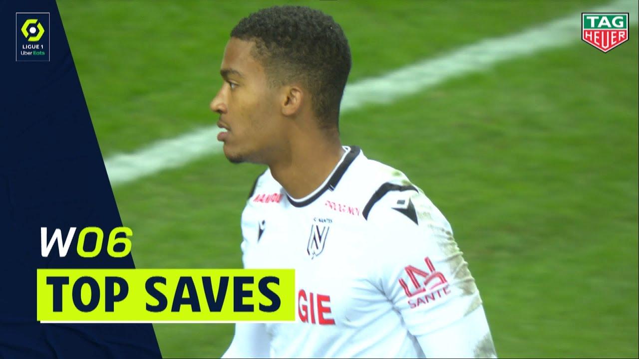 Best Goalkeeper Saves Week 6 Ligue 1 Uber Eats 2020 2021 Youtube