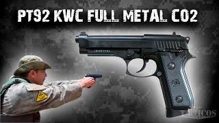 Pistola PT92 Full Metal CO2 KWC