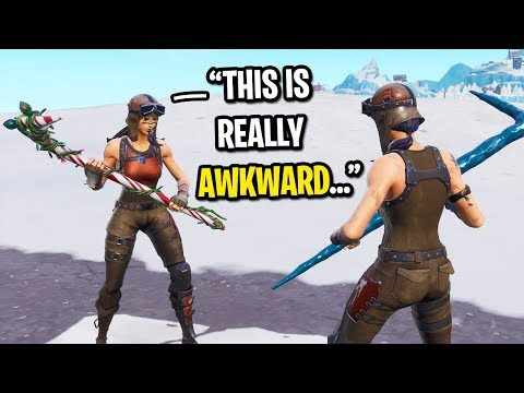 I met another RENEGADE RAIDER in Fortnite random duos and TH
