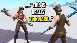 I met another RENEGADE RAIDER in Fortnite random duos and THIS happened...