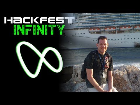 Hackfest 2016 - Chad M. Dewey presented Pentesting Cruise Ships OR Hacking the High Seas