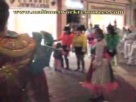 Streets of Valletta 4  Malta Carnival 2006
