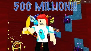 Gasté 500 MILLONES de monedas en Gold Nuke y Pegasus Pet! Roblox Treasure Hunt Simulator