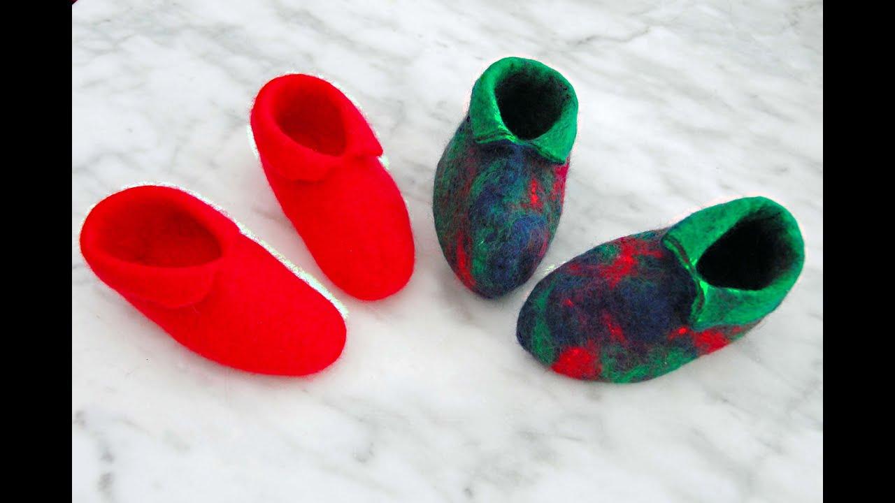 Felt Baby Shoes Pattern Free