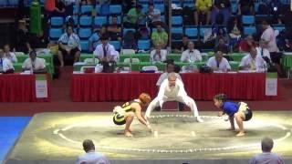 Сумо.Чемпионат мира по сумо 2014(UKR vs. MGL)
