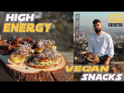 QUICK VEGAN SNACKS | HIGH ENERGY & PROTEIN
