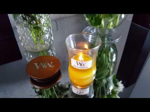WoodWick Candle Lemongrass