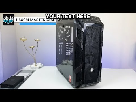 Cooler Master H500m Mastercase Overview - Ultimate Gaming PC Build Part 2