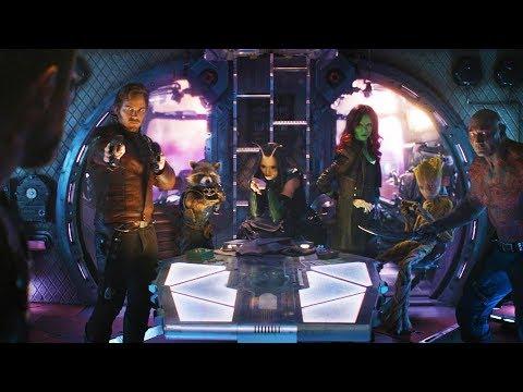 Стражи Галактики встречают Тора | Мстители: Война бесконечности (2018)