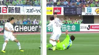 2018年5月6日(日)に行われた明治安田生命J1リーグ 第13節 湘南vs仙...