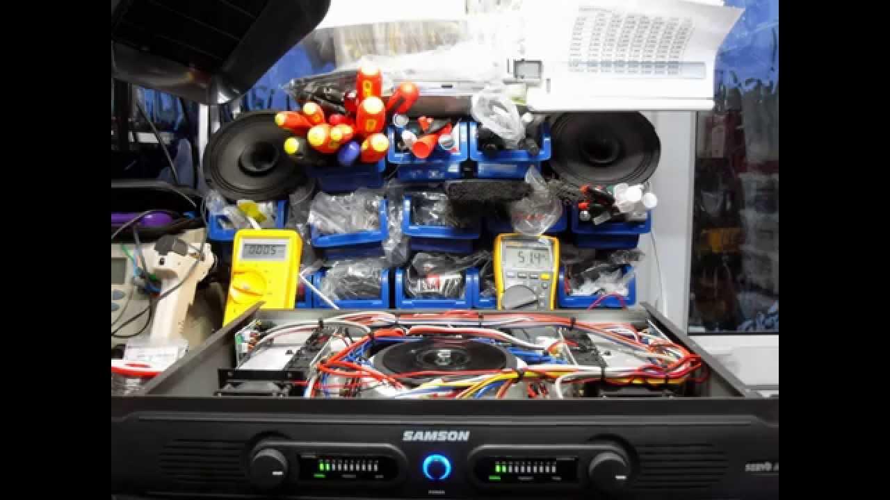 Samson Servo 600 Amplifier Repair Youtube