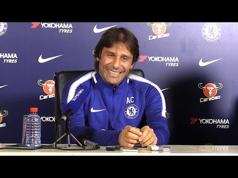 Antonio Conte Full Pre-Match Press Conference - Chelsea v Manchester United - Premier League