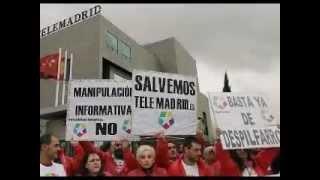 Cancion protesta de los trabajadores de Telemadrid.