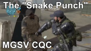 Is MGS CQC Realistic 5 MGSV KO punch