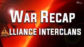 Alliance interclans FFF 1/2 Finale League Eagle recap | Clash Of Clans