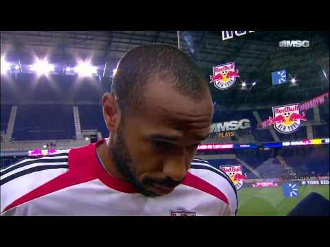 Thierry Henry interview post Montreal Impact game 2013