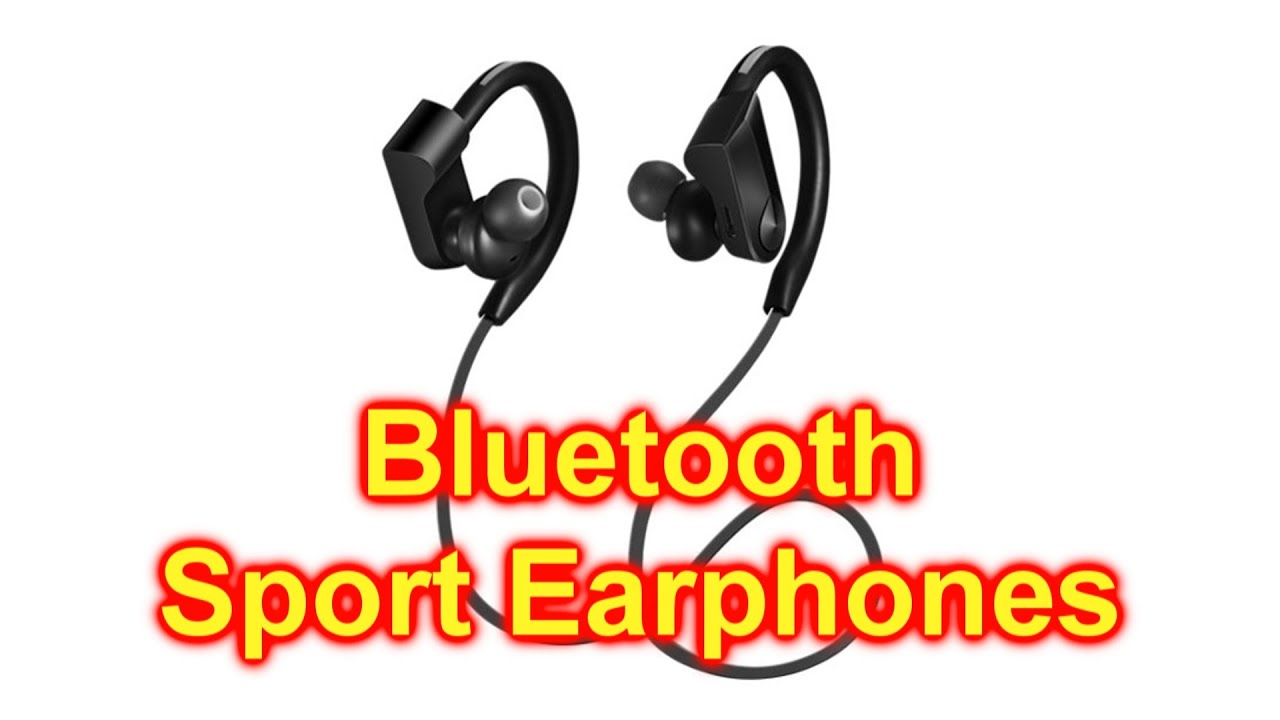 Blackweb Sport Bluetooth Headphones And Built In Microphone For Hands Free Calling Youtube
