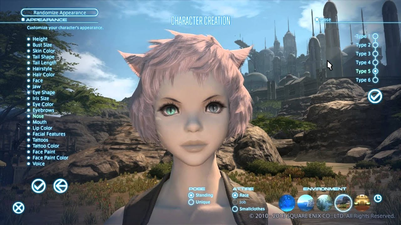 Character Creation Female Miqote Seeker of the Sun Pt 5