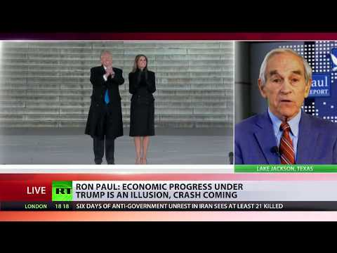 Ron Paul: Economic progress under Trump is illusion, crash coming