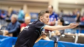 2018 US Open Table Tennis Championships - Day 3 (Semis & Finals) - Table 1