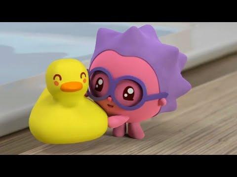 Малышарики - Уточка - серия 94 - обучающие мультфильмы для малышей 0-4 - про машинки
