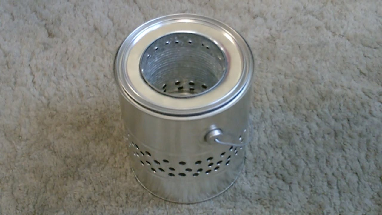 Homemade Quot Gallon Can Quot Wood Stove Quot Tin Can Quot Wood Stove