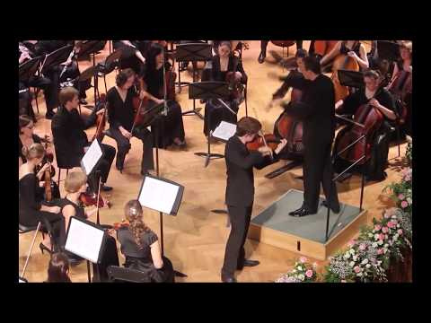 Michael Foyle in Moscow - Brahms Violin Concerto