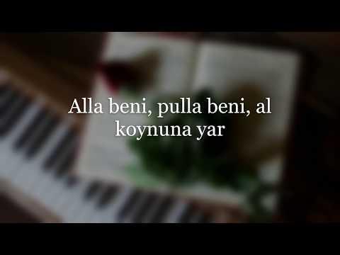 Barış Manço - Alla Beni Pulla Beni lyrics video