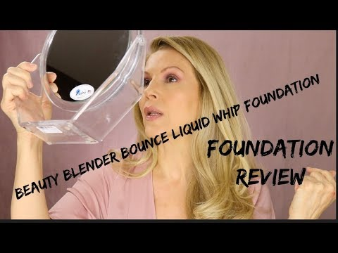 Beauty Blender Bounce Liquid Whip Long Wear Foundation Review | DRY Mature Skin thumbnail