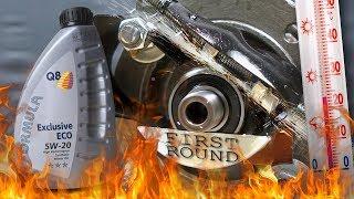 Q8 Formula Exclusive Eco 5W20 Jak skutecznie olej chroni silnik? 100°C