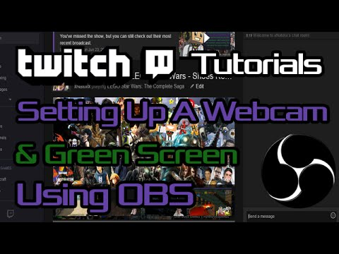 Setting up green screen obs