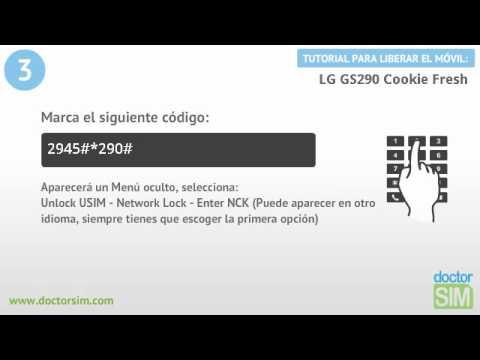 Liberar móvil LG GS290 Cookie Fresh | Desbloquear celular LG GS290 Cookie Fresh