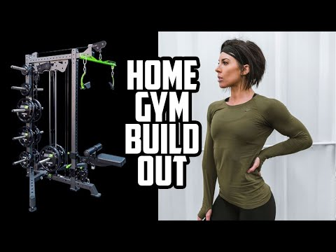 HOME GYM SET UP with Prime Fitness Prodigy Rack