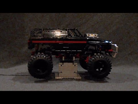 OVERKILL AWD - LEGO® MOC with 3D-printed parts, Torsen diffs, CVT