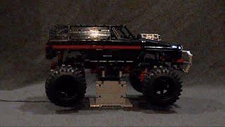 OVERKILL AWD - LEGO® MOC with 3D-printed parts, Torsen diffs, CVT
