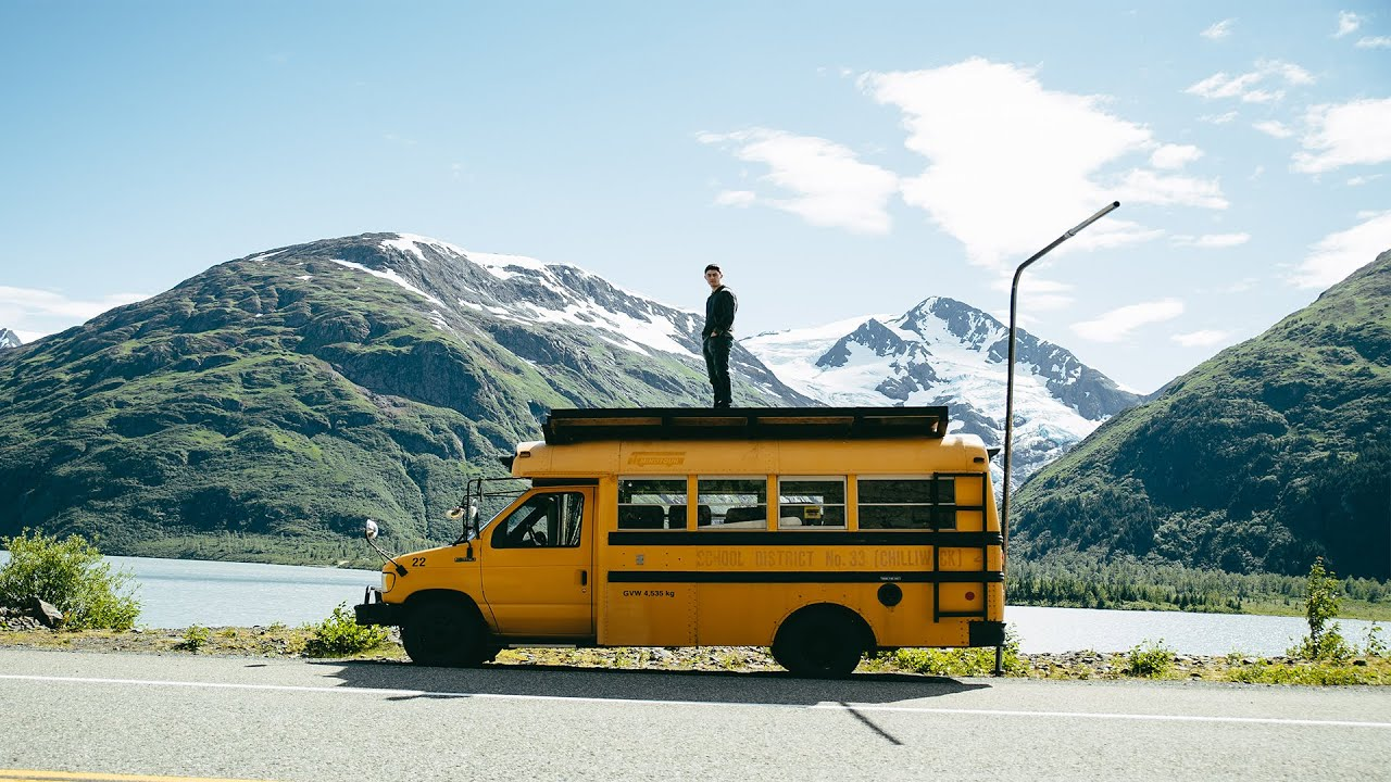 Rowdy Bus Goes North - Alaska Road Trip - YouTube