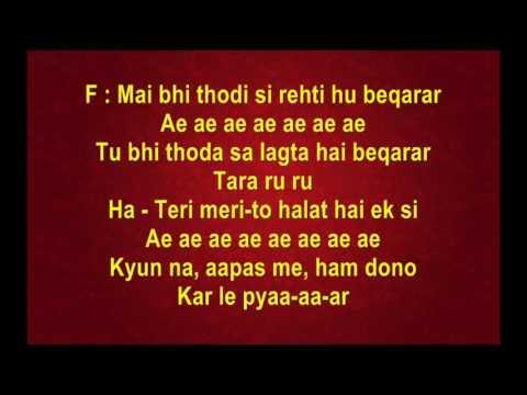 Meri Jaan Maine Kaha - The Train (Full Karaoke)