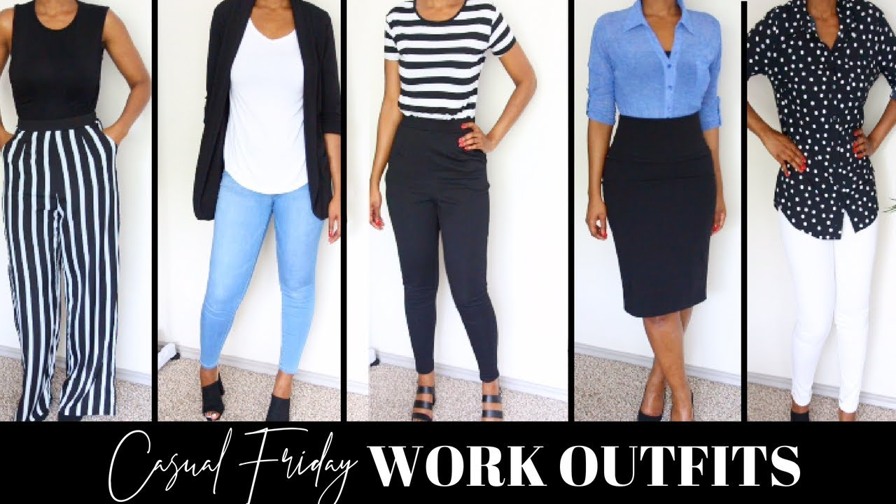 c902ad330fad CASUAL FRIDAY OUTFIT IDEAS FOR WORK | CASUAL OUTFITS FOR WORK | SUMMER WORK  OUTFITS