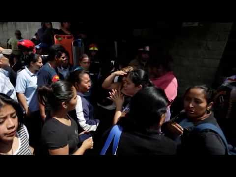 Ultimas noticias de GUATEMALA, 31 ADOLESCENTES MUEREN TRAS INCENDIO 09/03/2017