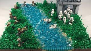 Lego Star Wars MOC on Naboo (Speed-Build)