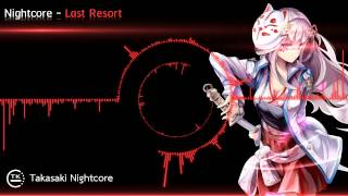 Repeat youtube video Nightcore - Last Resort