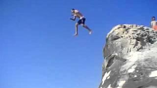 شباب مرسى مطروح القفز فى البحر