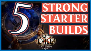 Path Of Exile 3.9 Starter Builds 🔥 5 Strong PoE Starter Builds for Metamorph (2019)
