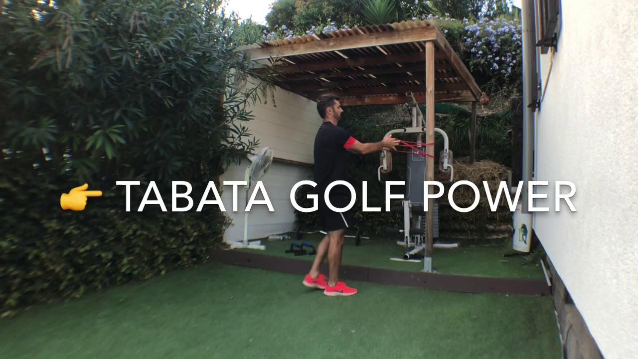 FitGOLF - Les sources de puissance au golf en mode Cardio TABATA