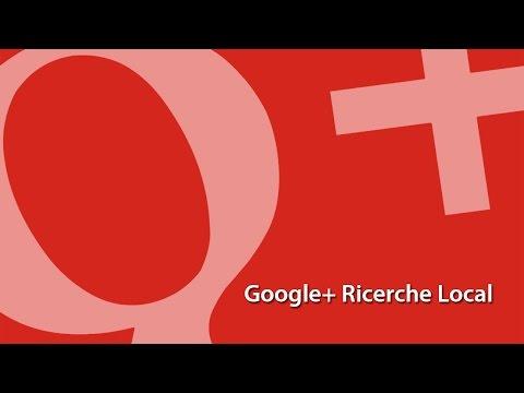 Google+ Ricerche Local