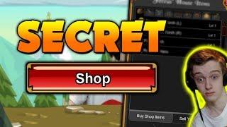 Secret Shop!!! Ac Tagged items! AQW AdventureQuest Worlds