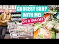 Healthy Grocery Haul on a Budget | January DEALS 2018! (Organic & All Natural Grocery Shopping)