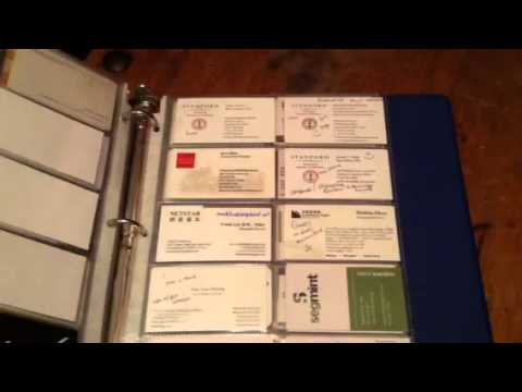 Job Search Binder Basics | Employer rejection letters, business cards and Call Records
