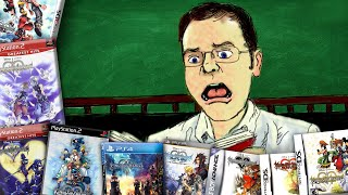 Kingdom Hearts Timeline - Chronologically Confused - Angry Video Game Nerd (AVGN)