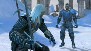 Geralt vs Grand Master & King of the Hunt: The Final Battle (Witcher 1 Ending | Boss Fight)